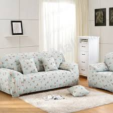 1 piece slipcover fabric stretch two seater sofa cover 145 185cm hyacinth
