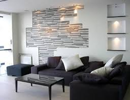 decorating niches modern living room wall decor for good modern