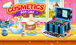 Cosmetic Box Cake Maker Barbie Cooking Games Para Android Apk Baixar