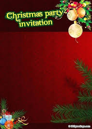 Microsoft Christmas Party To Perceive Christmas Party Invitation Template Microsoft Word