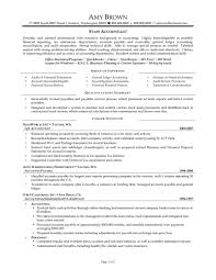 Resume Example Accountant Resume Sample Staff Accountant Resume