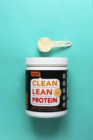 clean lean protein vanilla protein powder review