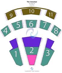 The Venetian Theatre Las Vegas Seating Chart Palazzo Theatre Venetian Tickets In Las Vegas Nevada