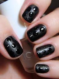 20 easy simple black nail art designs supplies