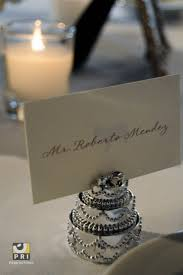 Wedding Cake Escort Cards