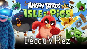 DécouVRez : ANGRY BIRDS VR - Isle of Pigs (PSVR / Oculus / Vive)