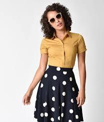 Women's 1970s vintage blouses