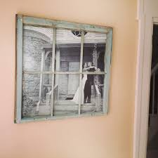 Old Window Frame Projects 10 Antique Flea Market Widow Pane And A 4 Black And White