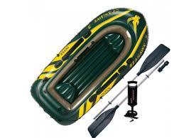Купить <b>лодку</b> надувную <b>Intex</b> 68380 <b>Seahawk</b> (<b>3</b>-х местн.) с ...