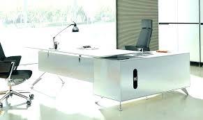 Office desk contemporary Luxurious Contemporary Executive Desk Modern Glass Office Maidinakcom Contemporary Executive Desk Executive Office Desk Furniture Modern