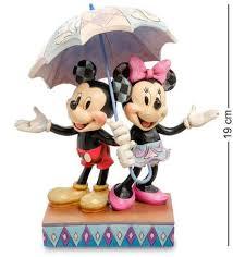 <b>Фигурка Декоративная Disney, Микки</b> и Минни с Зонтом, 19 См ...