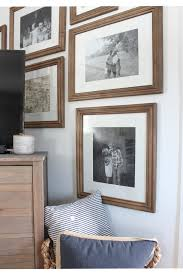 new frames around the tv rooms for blog