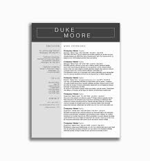 Resume Templates In Word Best Of Free Sample Resume For Job