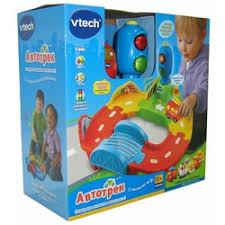 «Развивающая игрушка <b>Vtech Автотрек</b>. Свет+звук» — Детские ...