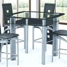 all modern counter height table best quality furniture glass top dining grey black