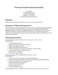 Pharmacy Tech Resume Template Extraordinary Template Pharmacy Technician Resume Sample Templates Technical Tech