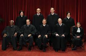 The nine Justices of the US Supreme Court.