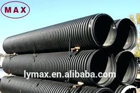 corrugated drainage pipe double wall subsoil 3 inch drain foot
