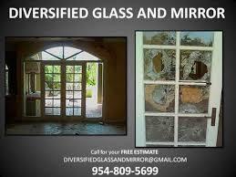broken sliding glass door repair mirror glass windows