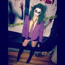 female joker costume más