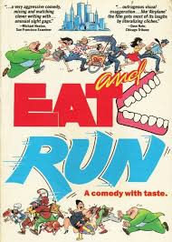 Image result for eat and run cartoon