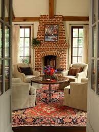 59 cool living rooms with brick walls digsdigs modern white marble surround