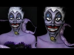 disney villain series ursula the little mermaid makeup tutorial