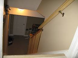 basement stairs railing. Basement Stairs Railing Diy Basement Stairs Railing A