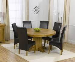 round dining room table sets for 6. round oak dining table for 6 room to mesmerizing ideas sets e