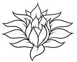 Small Picture Drawing a Pretty Flower Easy Step by Step Flowers Pop Culture