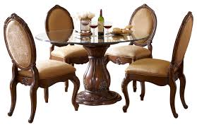attractive traditional glass dining tables with round glass top dining table set montclaire dining table42 round