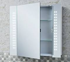 7 Delightful LED Illuminated Bathroom Mirrors With De Mister