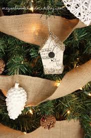 Rustic Christmas Tree- Birdhouse
