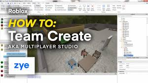 Roblox Create Roblox How To Team Create Multiplayer Studio