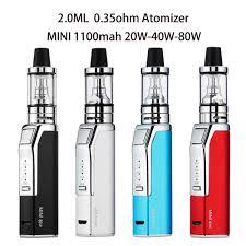 Original <b>electric cigarette</b> mod Starter kit 100W 2200mah build in ...