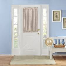 front door window coveringsFront Door Window Curtain Amazoncom