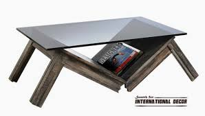 contemporary coffee table  coffee table decoration
