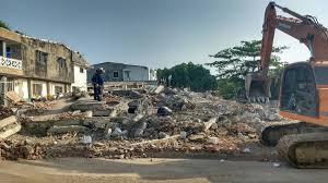 Resultado de imagen para edificio derrumbado en blas de lezo