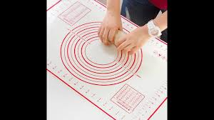 <b>Reusable Non-Stick</b> Silicone Baking Mat with Measurements ...