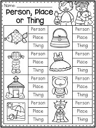 Grammar Worksheet Packet - Nouns, Adjectives and Verbs Worksheets