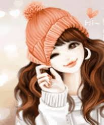 Latest Animated Profile (DP) Pictures for Girls. Download Beautiful  Animated Girls Profile (DP) Pictures… | Cute cartoon girl, Cute cartoon  wallpapers, Girl cartoon