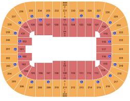 Greensboro Coliseum Detailed Seating Chart Greensboro Coliseum Seating Chart Greensboro