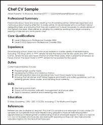 Sample Chef Resume Chef Resume Examples Sample Chef Resumes Sushi ...
