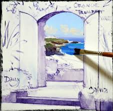 sl12813 step 2 open door painting20 painting