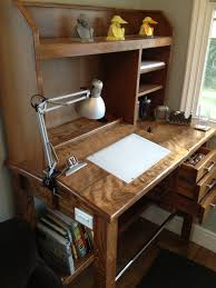 drafting table desk. Guys, I Want To Talk You About My New Standing Drafting Table. It\u0027s Favoritest Thing In The World. Here\u0027s A Pic: Table Desk