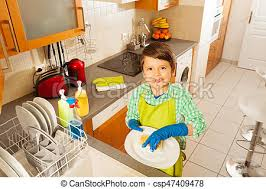 boys washing dishes. Modren Boys Happy Kid Boy Washing Dishes In Domestic Kitchen  Csp47409478 In Boys Washing Dishes