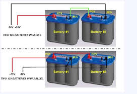 wanting to go from 12v to 24 volt system [archive] crappie com 12 24 volt trolling motor wiring diagram at 24 Volt Trolling Motor Battery Wiring
