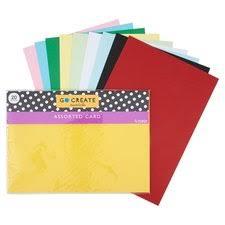 Tesco Go Create Mixed Card Bumper <b>Pack 20 Sheets</b> - Tesco ...