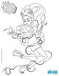 Small Picture Coloring Pages Coloring Page Monster High Tryonshorts Monster