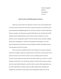 attila the hun essay relation to modern day human resources guinevere jagiello ans 446 book report 4 18 13 attila the hun and hr